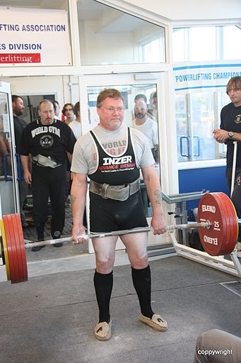 Terry 'Red Light' Jex, Paul Rees' Favorite Lifter