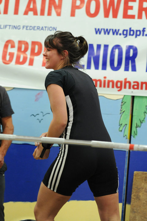Lisa Hicks, GBPF Junior Equipped and Unequipped 75kg Champion 2010, The Joy of Powerlifting